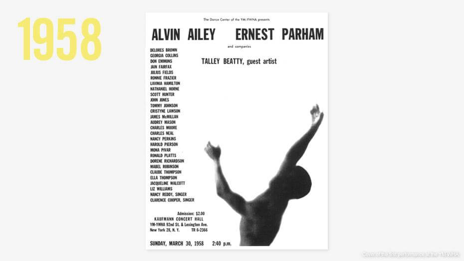 Explore Our History   Alvin Ailey American Dance Theater