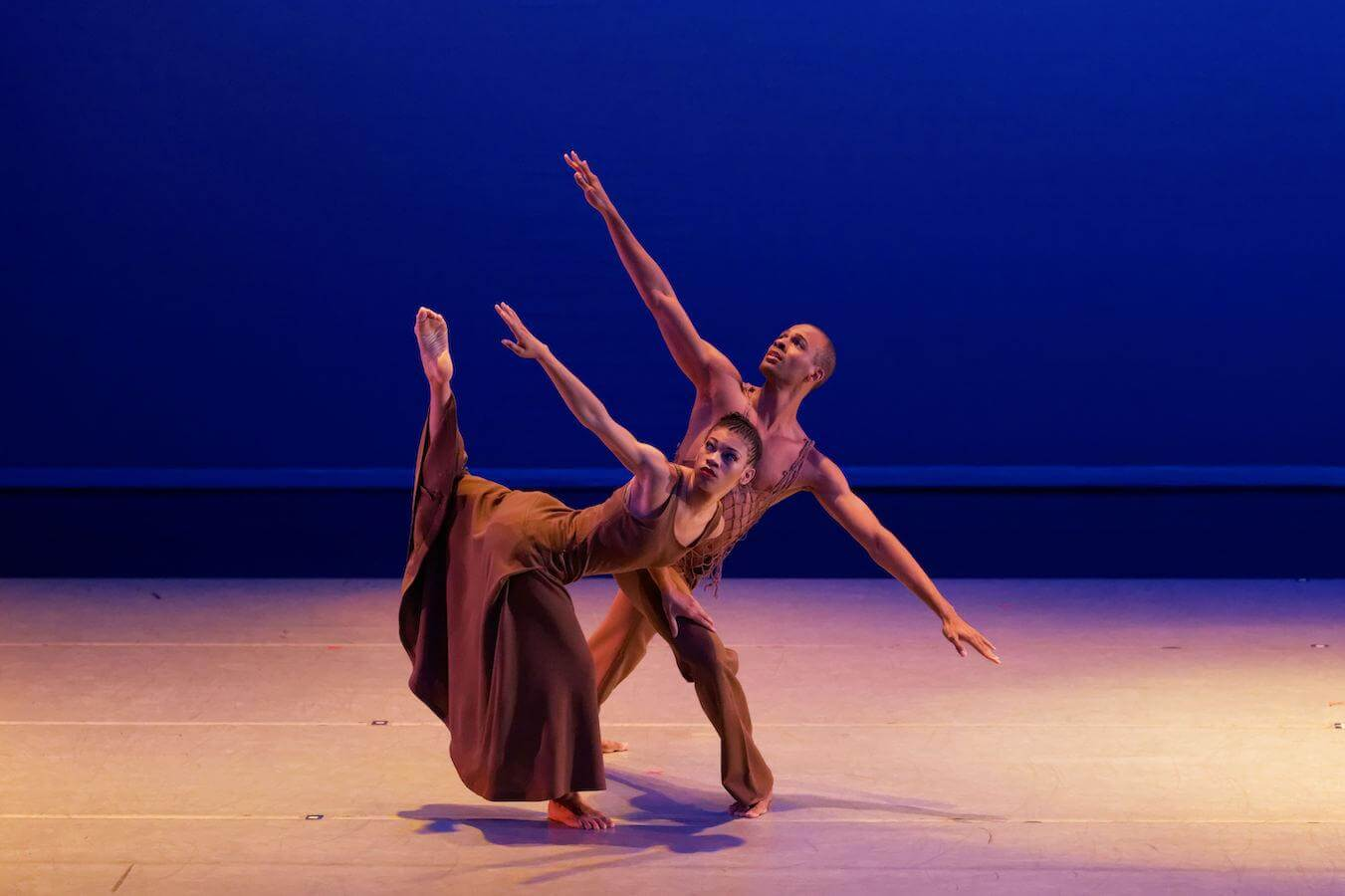 Ghrai DeVore-Stokes and Yannick Lebrun in Revelations, photo by Pierre Wachholder