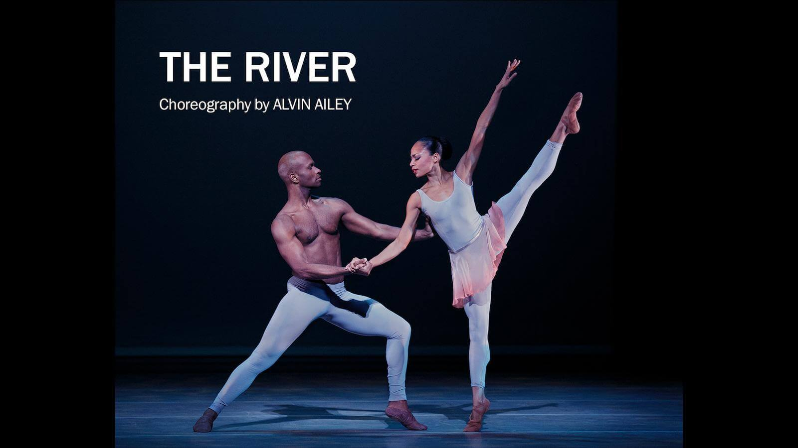 Video excerpt from The River, choreography by Alvin Ailey