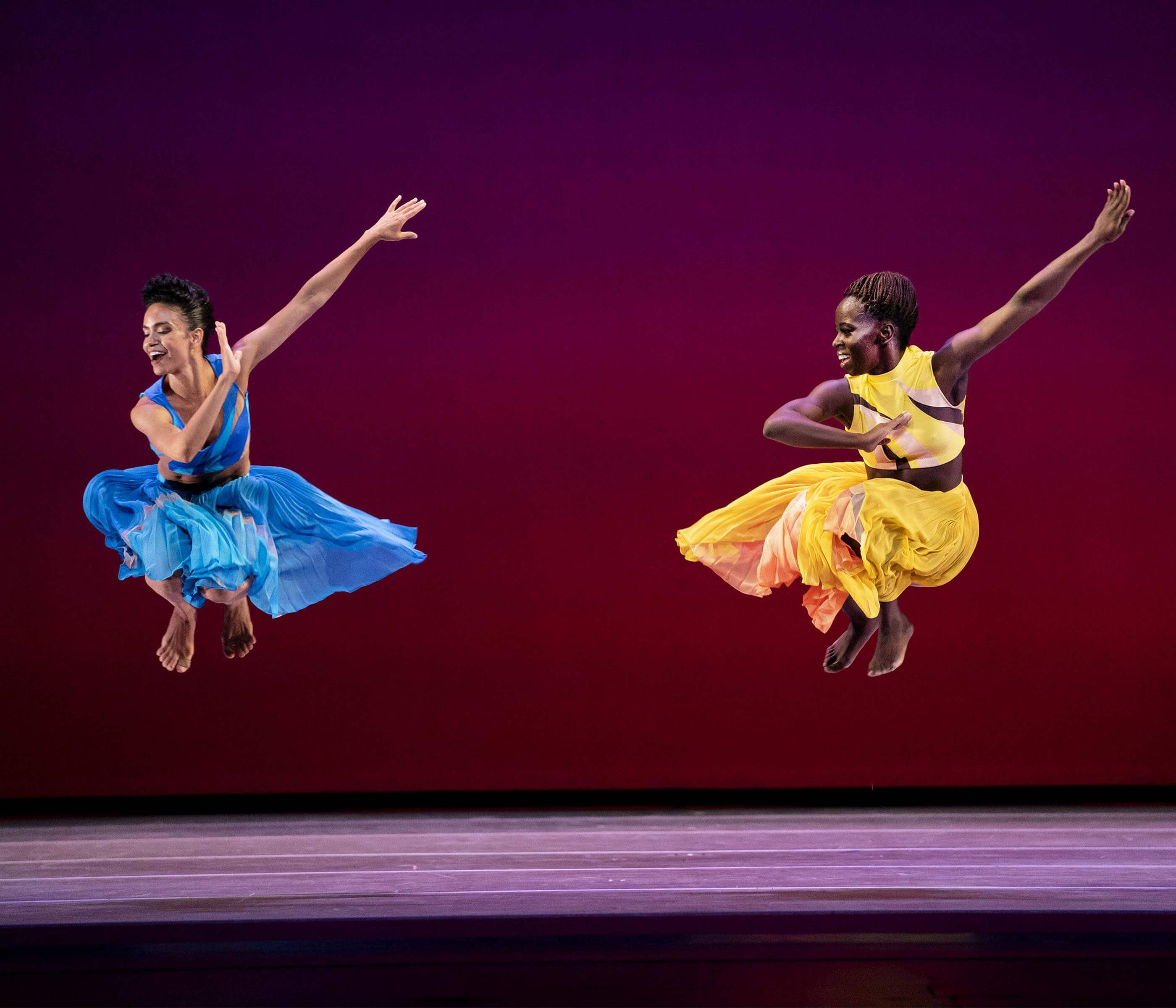 Belen Indhira Pereyra and Yazzmeen Laidler in Ounce of Faith, photo by Paul Kolnik