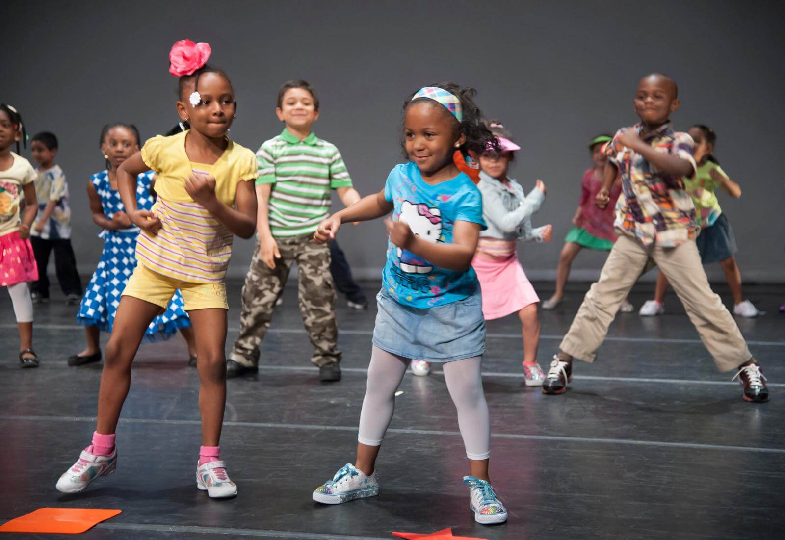 AileyDance Kids at Bronx Charter School for Excellence, photo by Joe Epstein