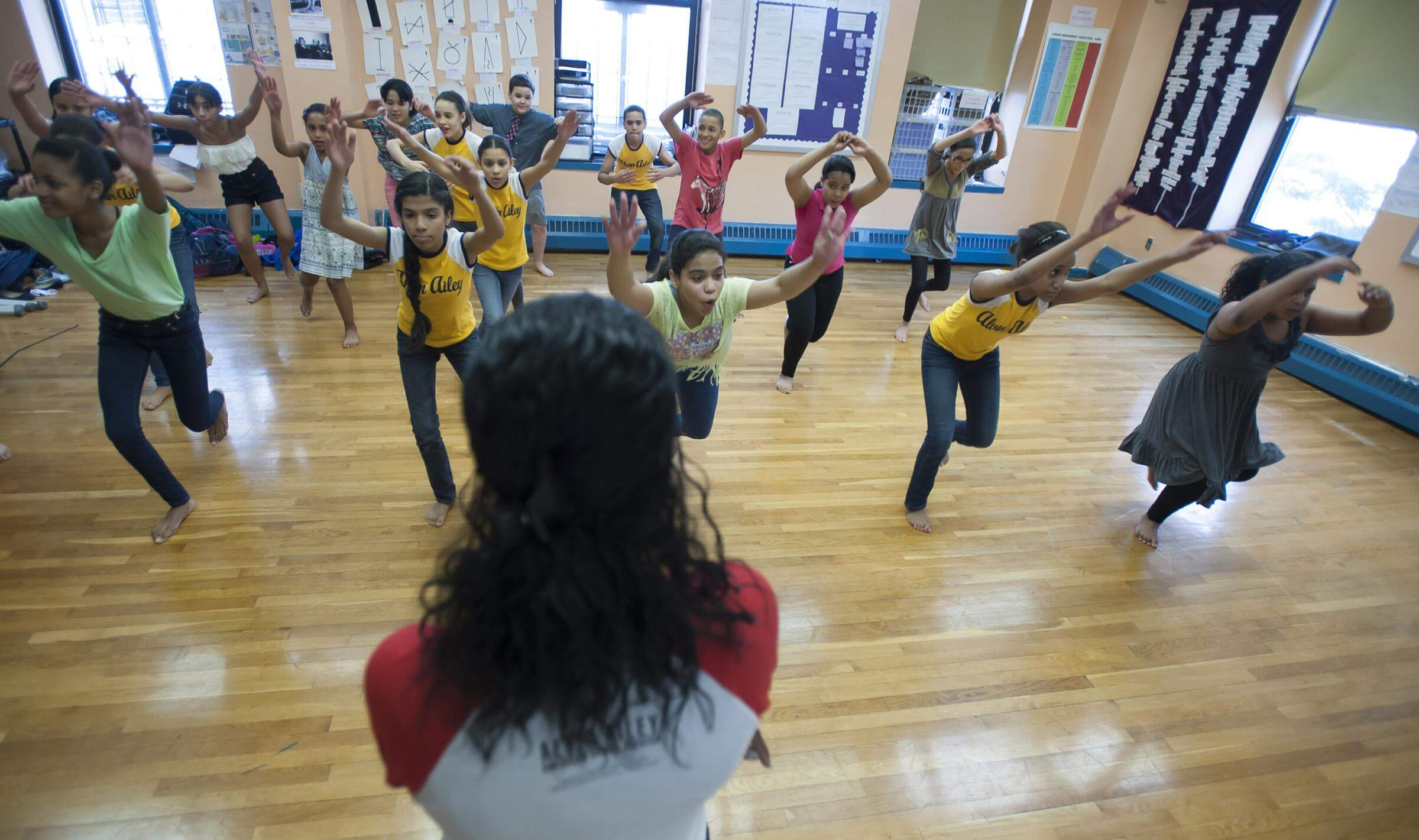 Arts in education community programs alvin ailey american dance aileydance kids at is 528 in manhattan photo by joe epstein malvernweather Images